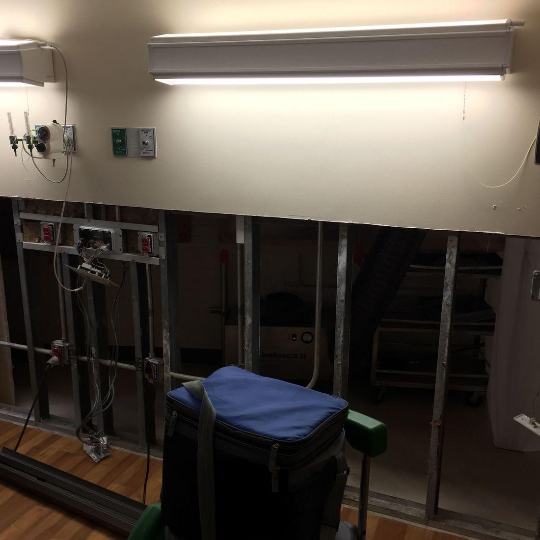 Drywall Repair/Before