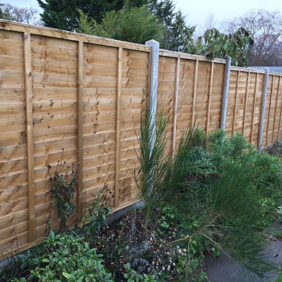 Fencing southwest pannels £ clear