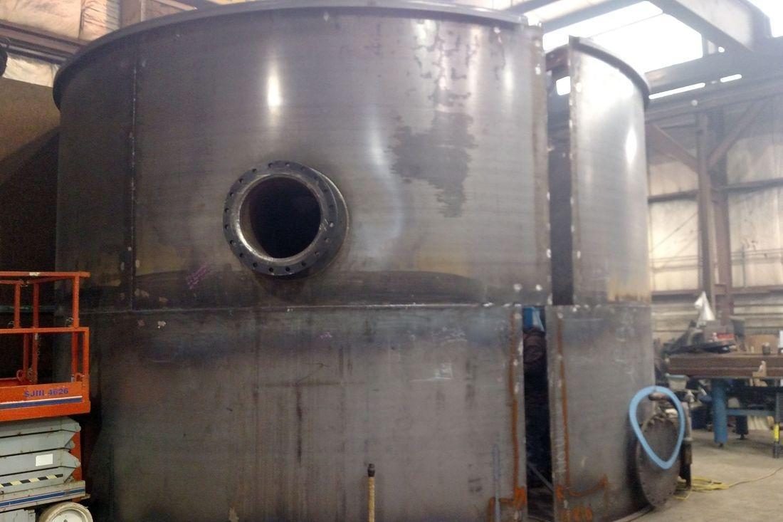 Welded steel shop tank modular prefab API