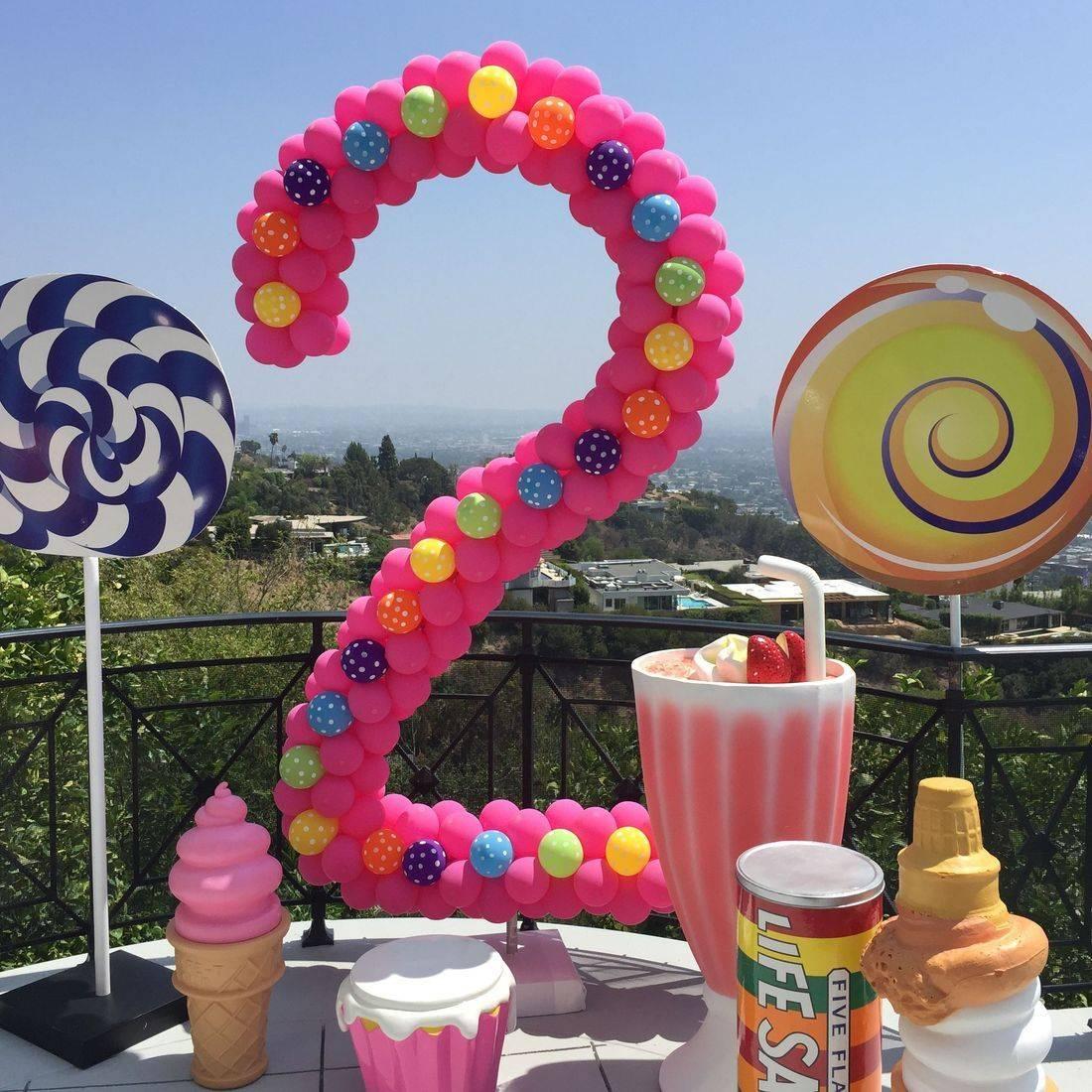 Birthday Candy Photo Op