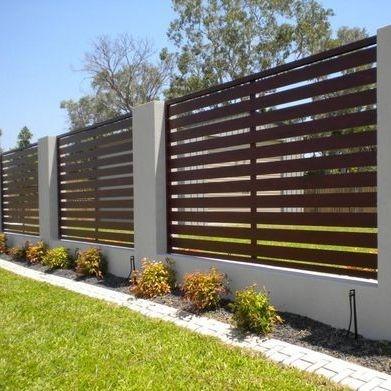 slate fencing, feature fencing, block walls