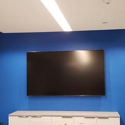 av home theater conference equipment tv wall mount