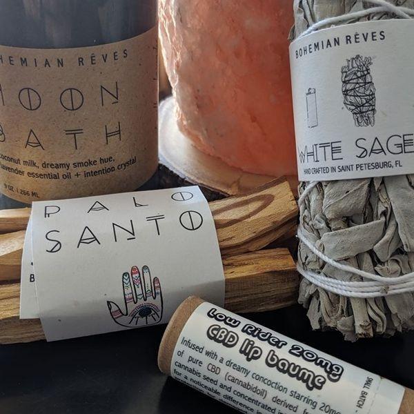 Sage, Palo Santo