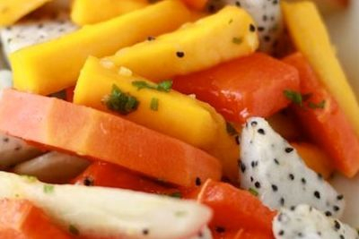 This is our Tropical Fruit Salad
