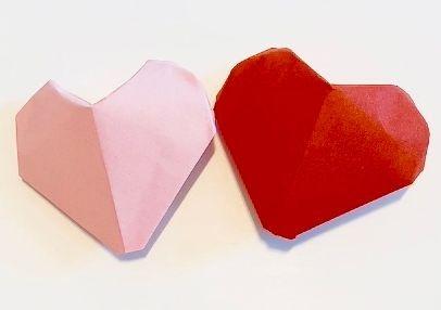 origami heart 3D hanna farquharson yokozawa hannah