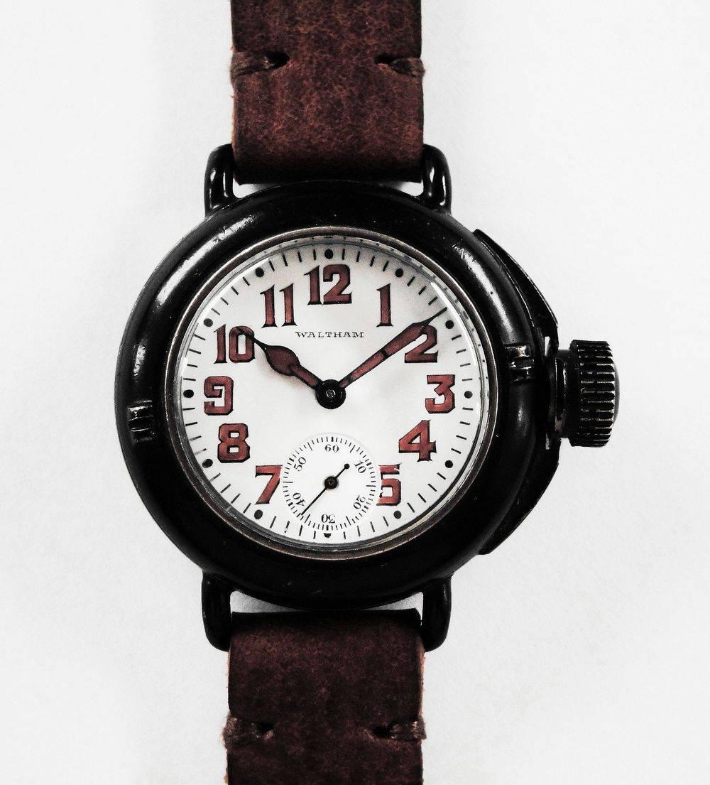 """Waltham Depollier """"Field & Marine"""" Waterproof Watch"""