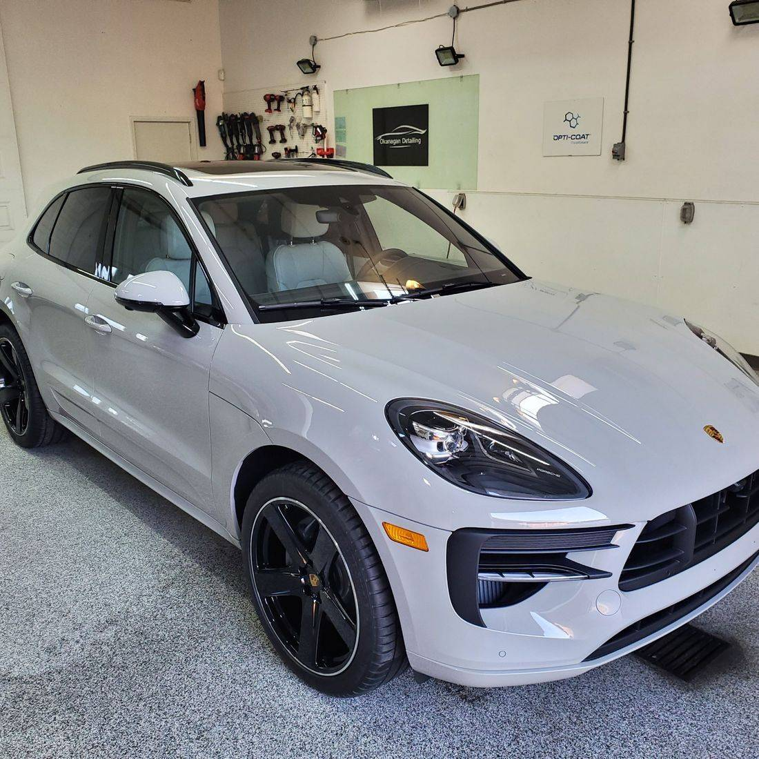 porsche macan ceramic coating kelowna
