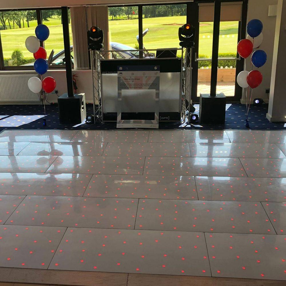 Hagley Golf Club worcestershire led dancefloor