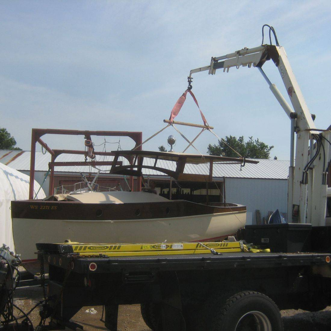 Bergersen Boat restoration