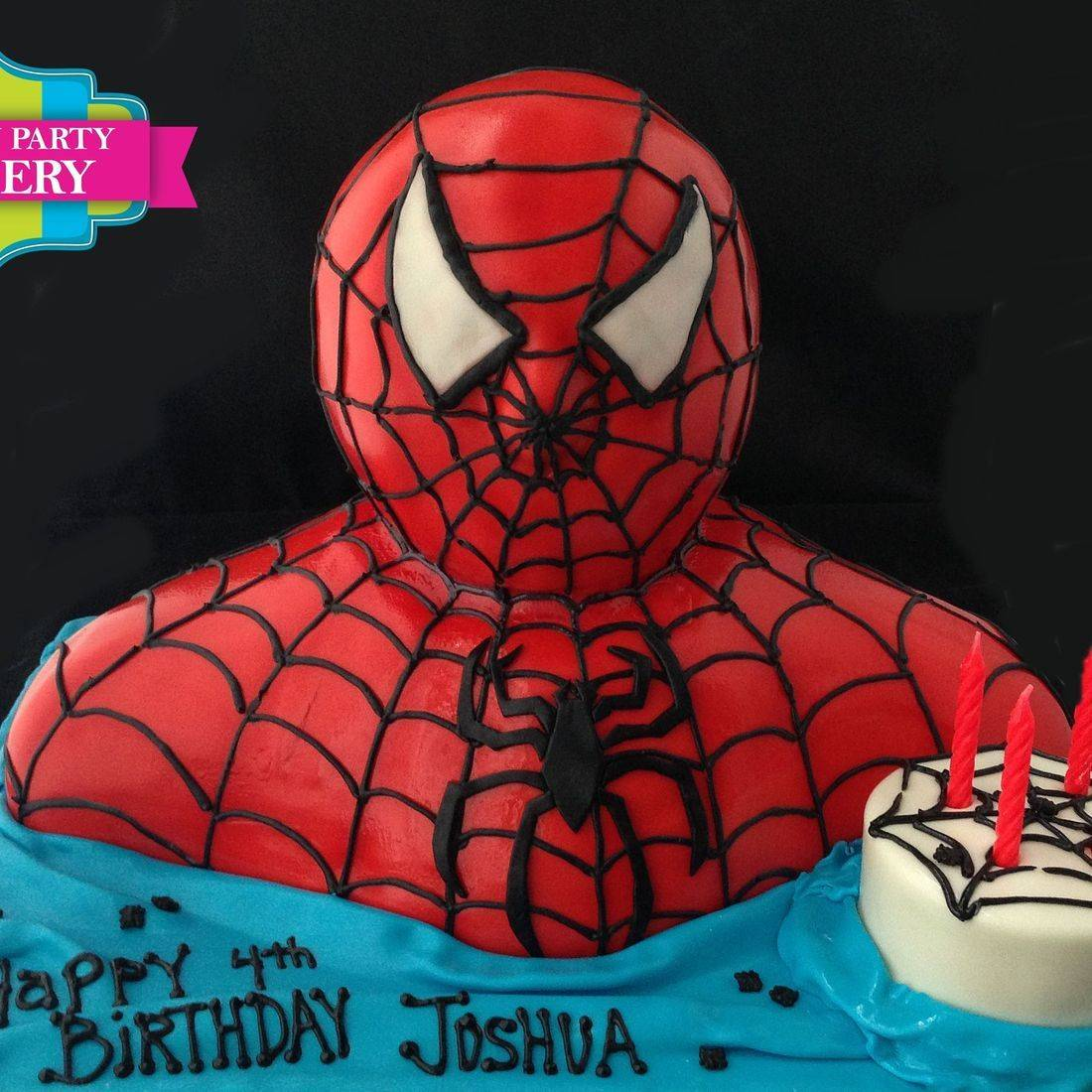 Spiderman  Cake Carved Dimensional Cake Milwaukee