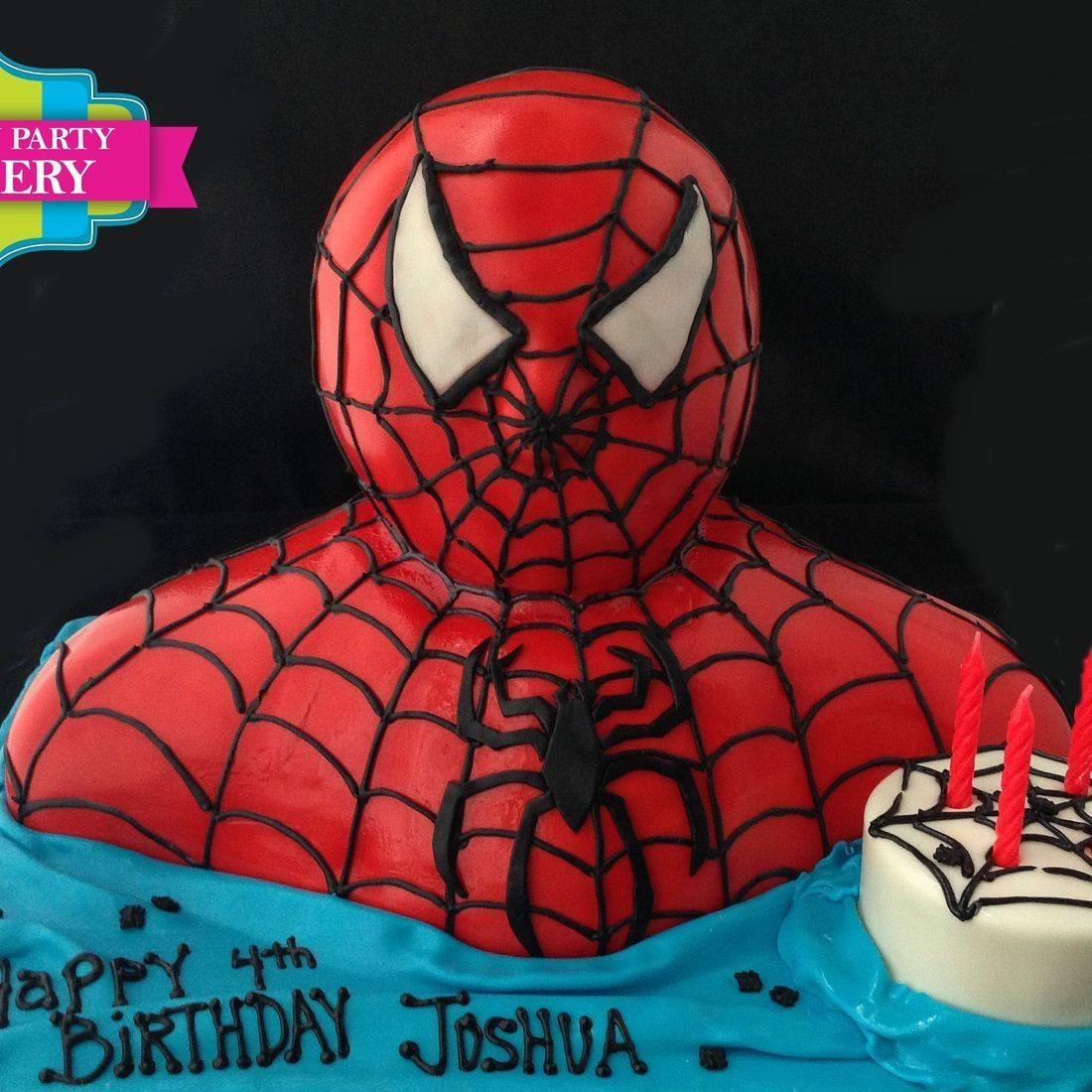 Spiderman  Cake Carved Dimensional Cake Milwaukee
