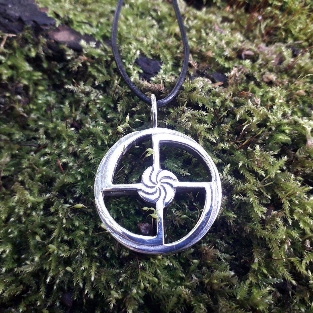 Viking silver jewellery in Nordic style