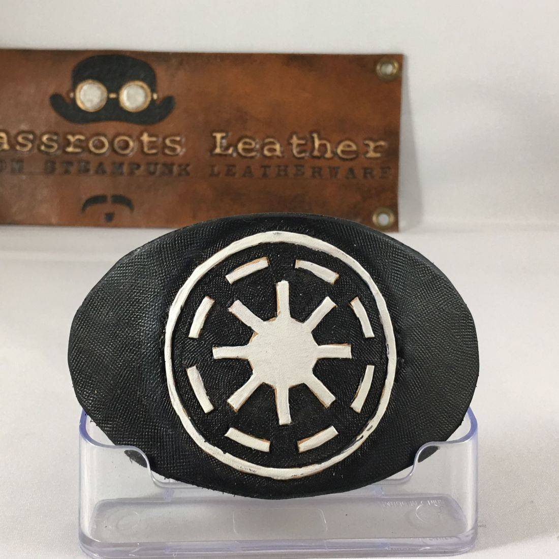 Leather Hair Clip Old Republic