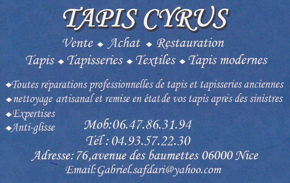 TAPIS CYRUS