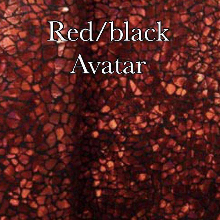 Red/black avatar