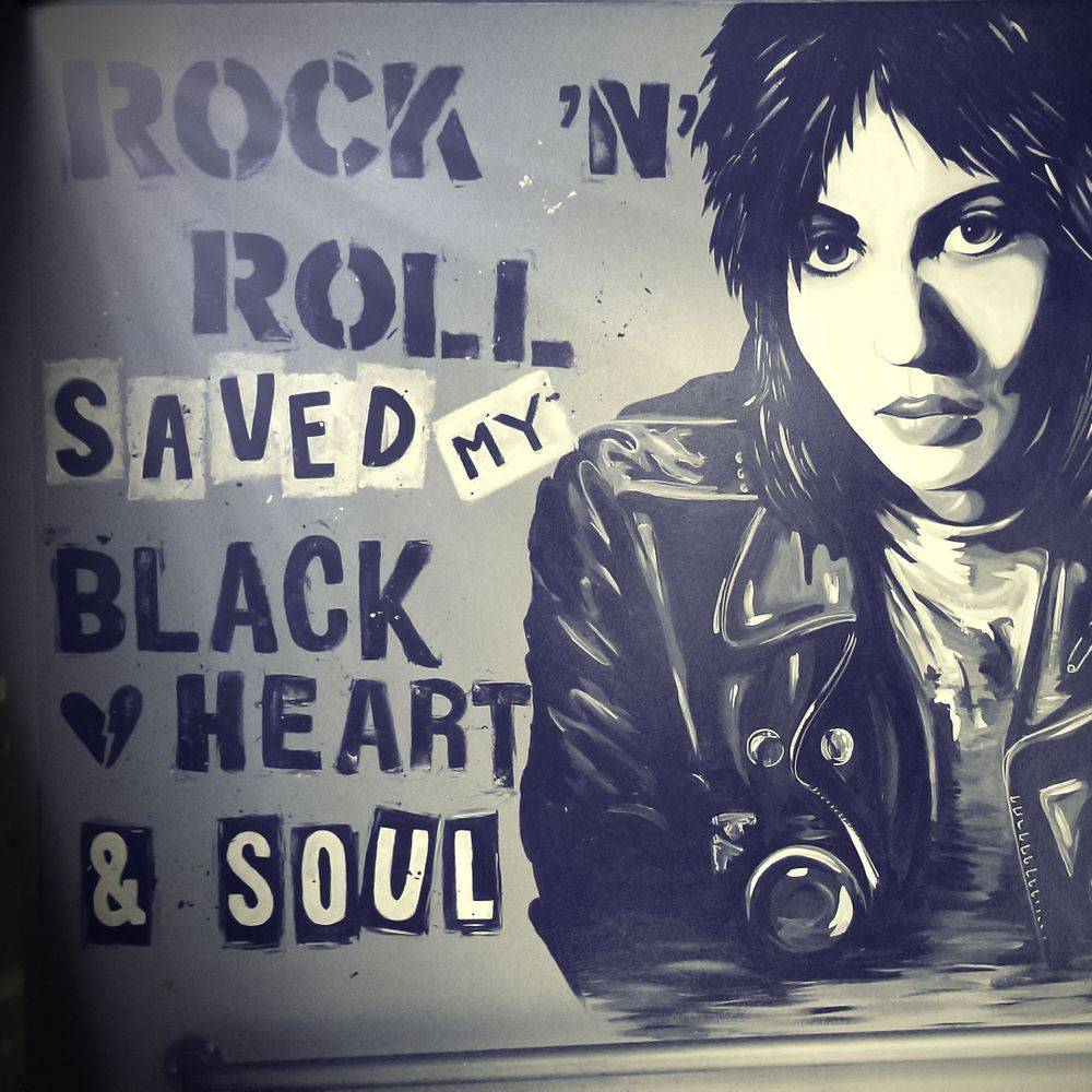 Rock N Roll Saved My Black Heart & Soul