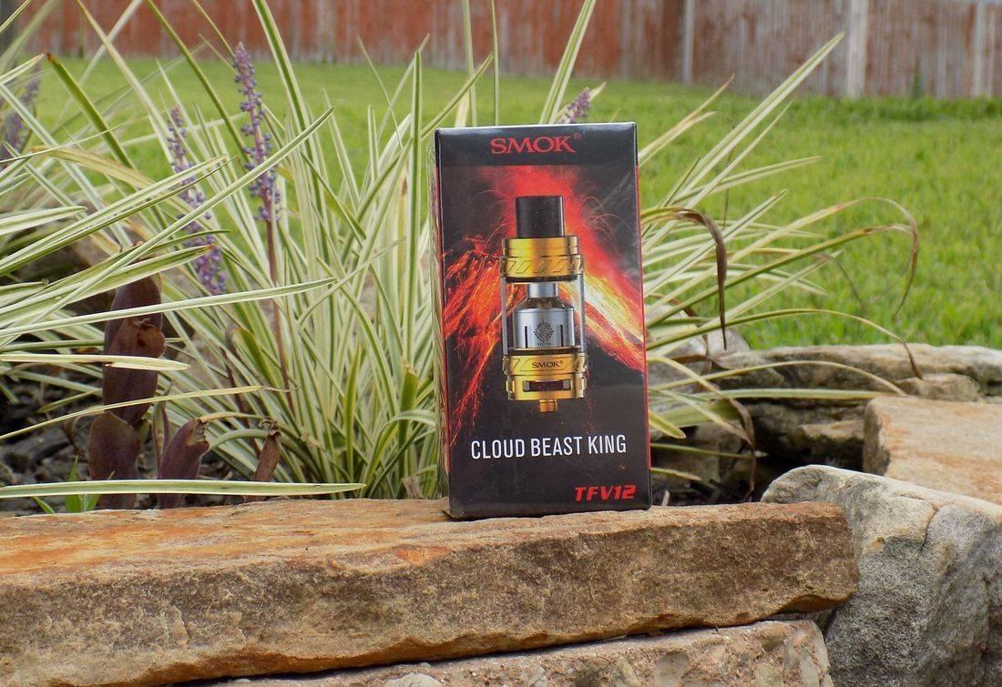 SMOK TFV12 cloud beast king (gold)