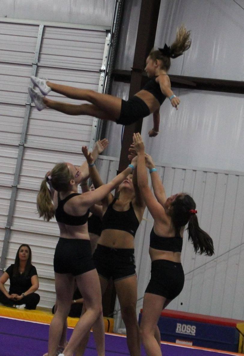 cheerleading, stunts, tumbling, competitive cheer