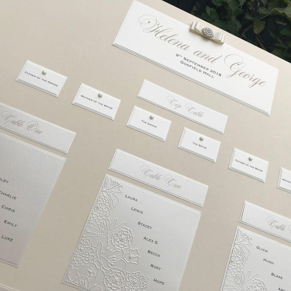 Bouquet Table Plan A1