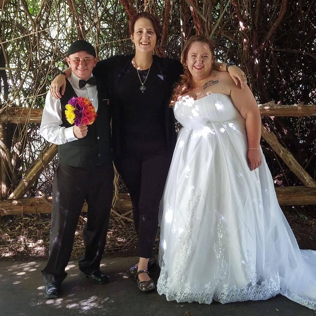 lgbtq, sloan park, mt ulla, officiant, wedding, celebrant, minister, outdoor wedding