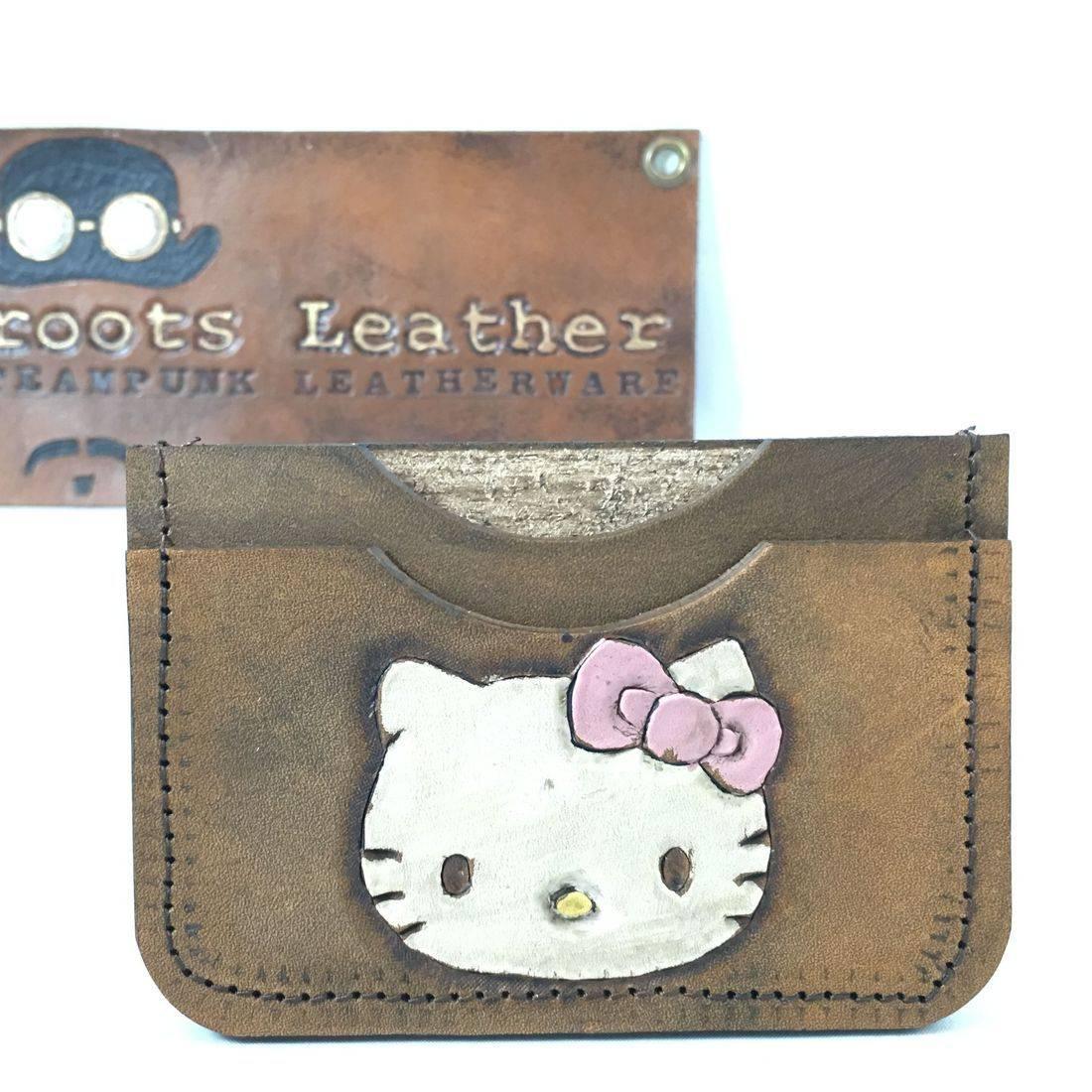 Double Slot Wallet Hello Kitty