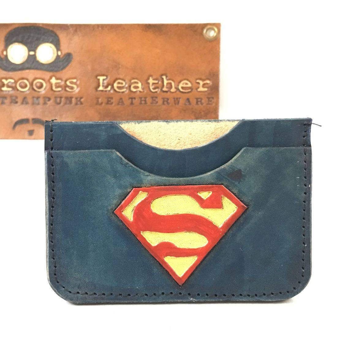 Double Slot Wallet Superman