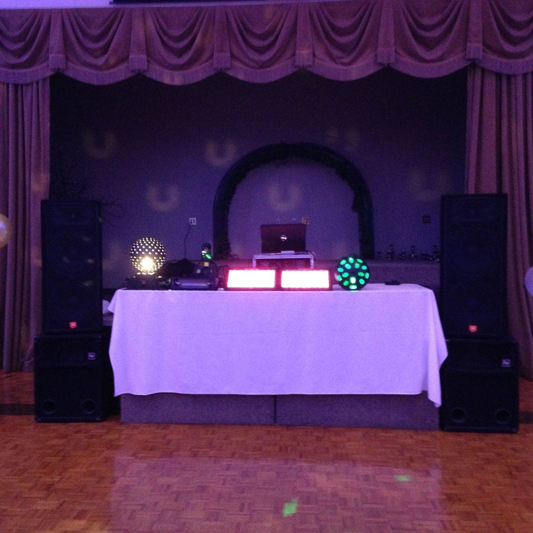 Mr. Productions DJ Service at a Formal at Michaelangelo's
