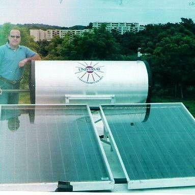 Instalaciones de calentadores de agua solar