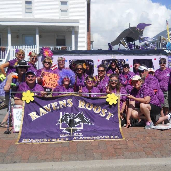 Ravens Roost Convention Parade in Ocean City