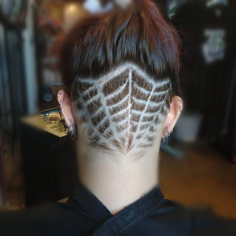 undercut designs lgbqt charlotte alternative salons punk haircuts clt barbers