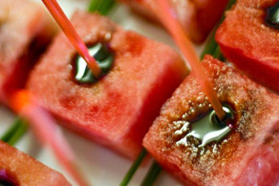 Balsamic Watermelon Arista Caterers