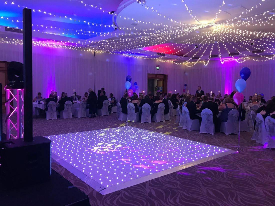 Worcesterhsire LED Dancefloor Hire Twinle Sparkle
