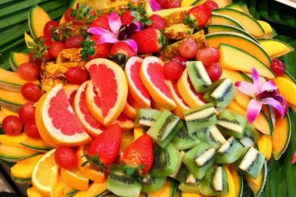 Luau Fruit Platter