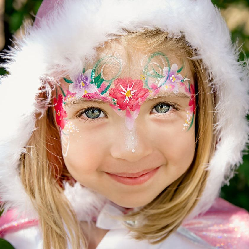 Chicago face painting, face painter, children's face painting services,  fairy face  painting,