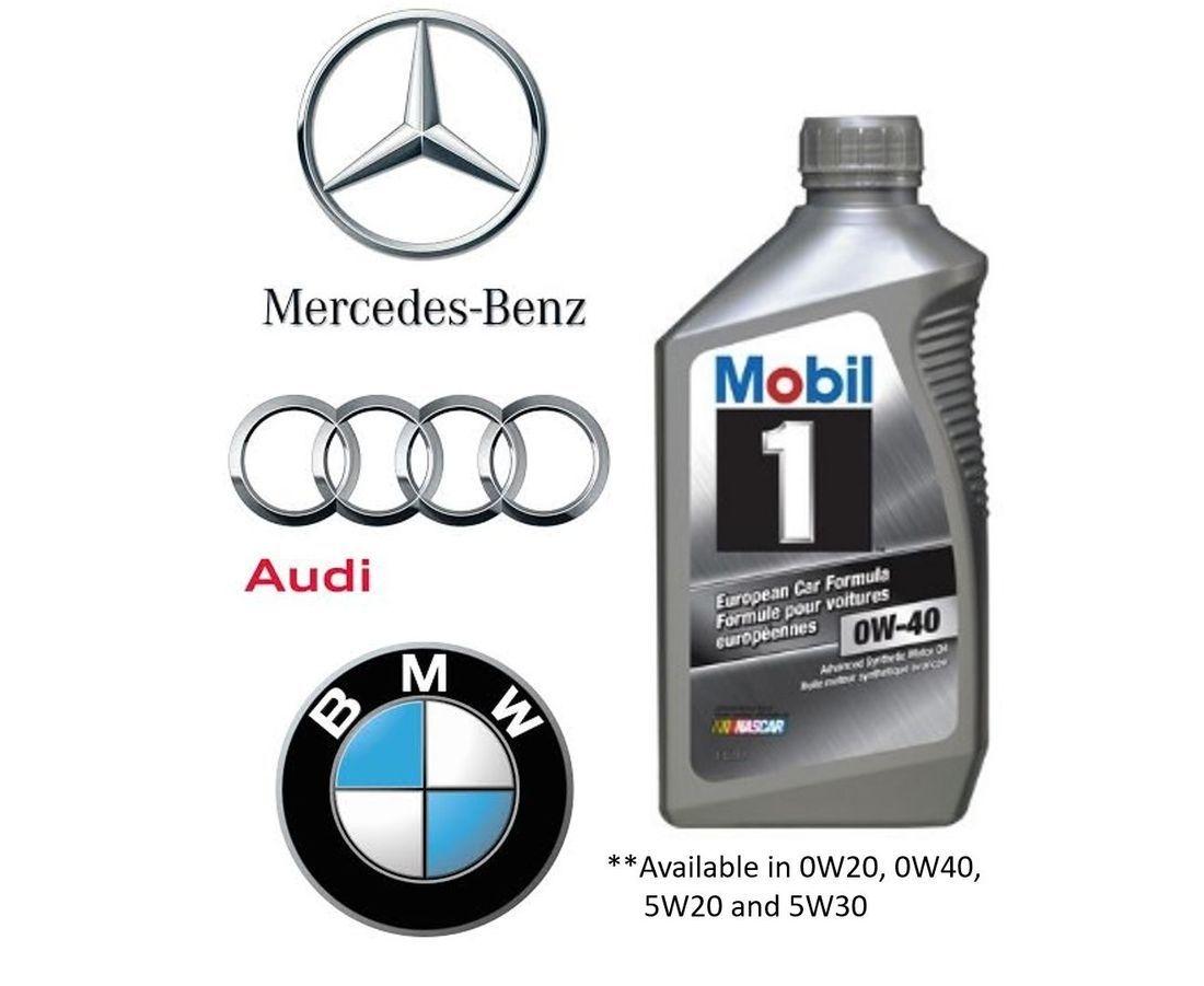 Audi BMW Mercedes Oil Change
