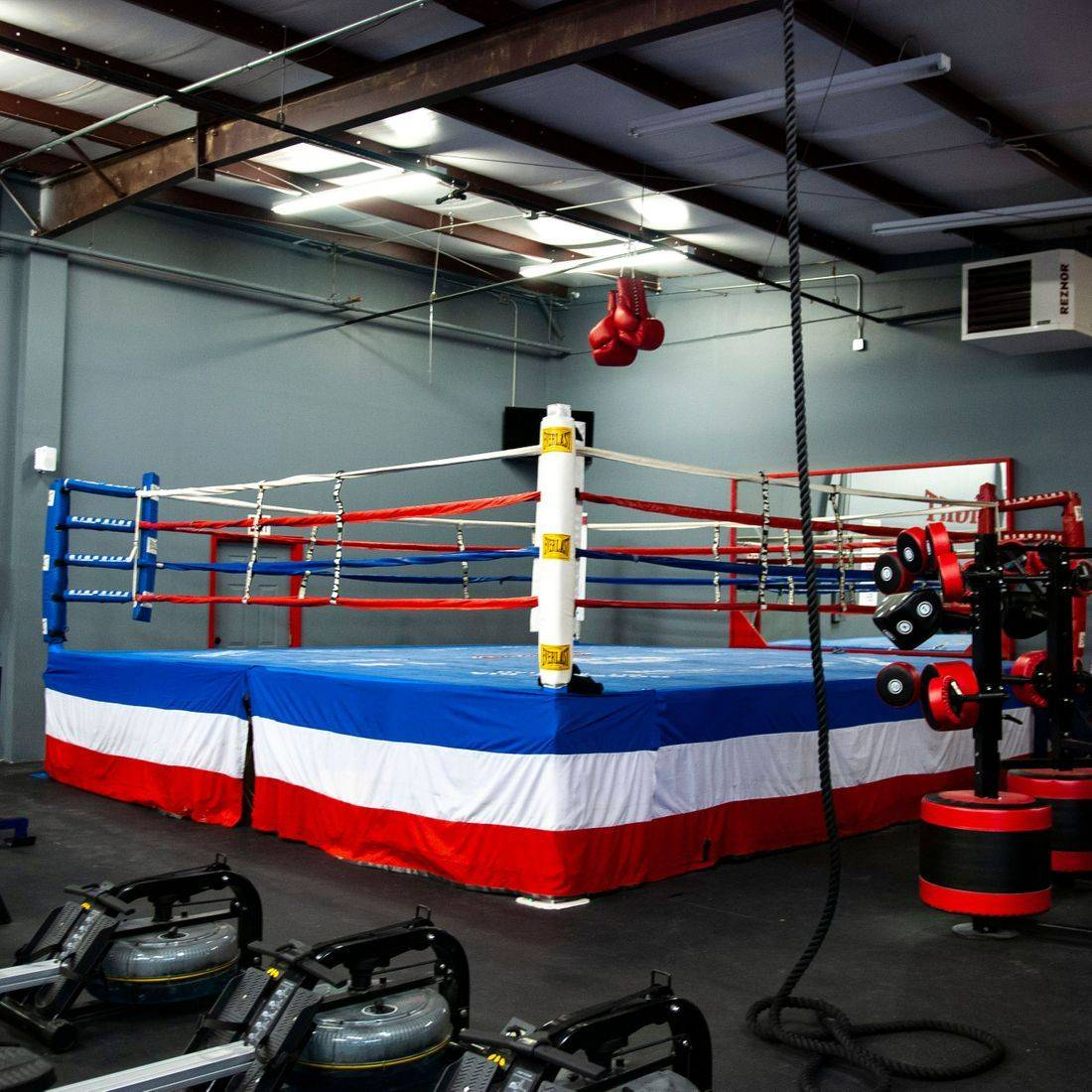 Prize Fight Fitness boxing ring