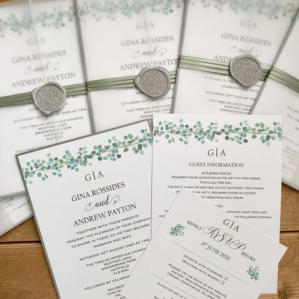 Wax Seal Invitations