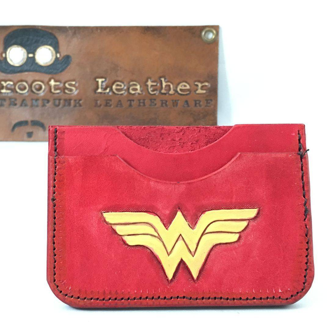 Double Slot Wallet Wonder Woman
