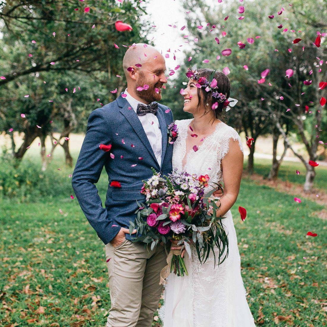 Samantha and Tom's Fig Tree Wedding
