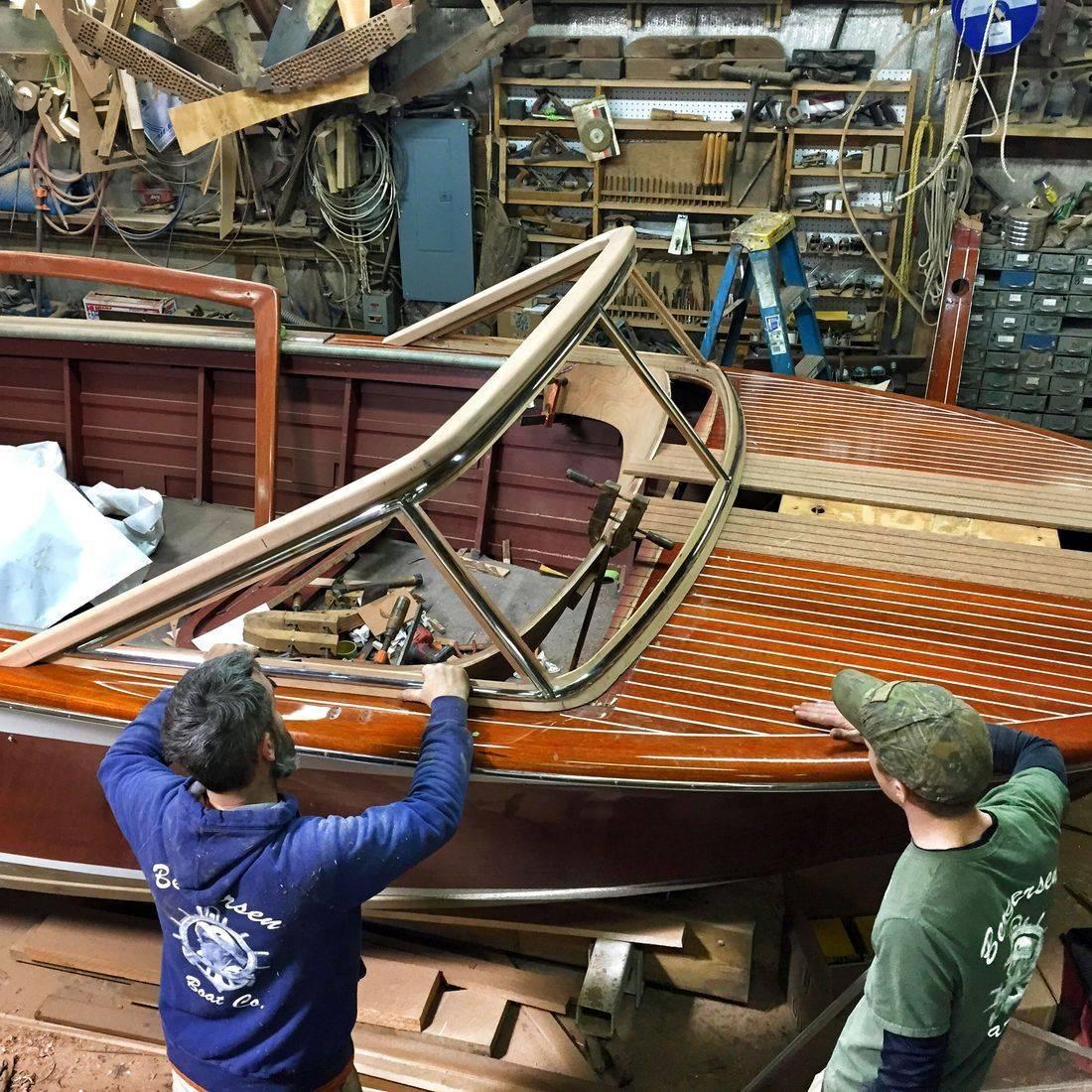 Streblow refit by Bergersen Boat Co.