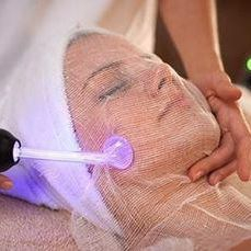 Acne treatment direct high frequency