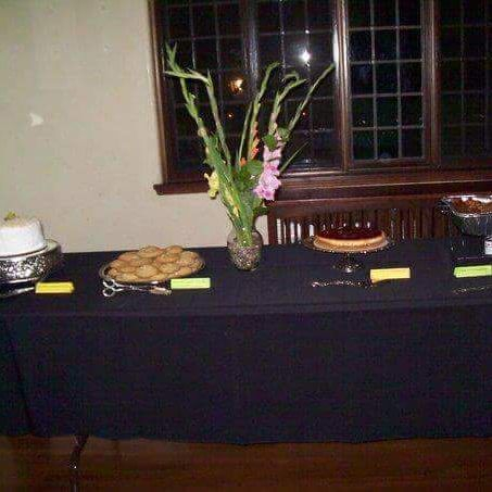 Jamaican dessert table