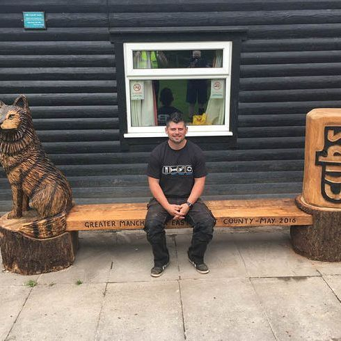 Chainsaw Carving, Mike Burgess, Cheshire UK