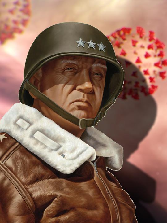 George Patton, War Is My Business, Training, Leadership, Coronavirus, COVID19