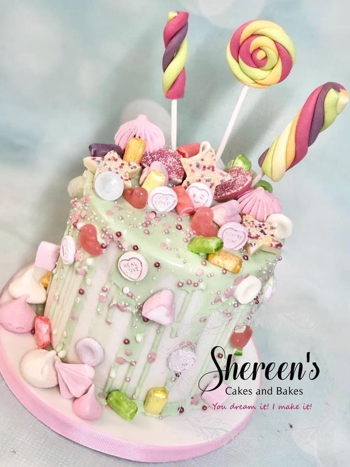 Sweet Drip Cake
