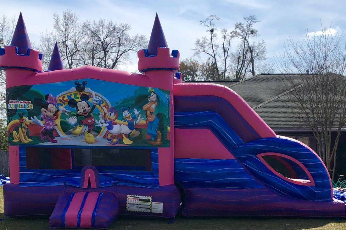 balloon bounce house slide combo inflatable party rental