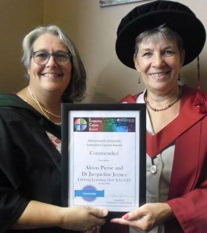 Aberystwyth University, Lifelong Learning, Alison Peirse