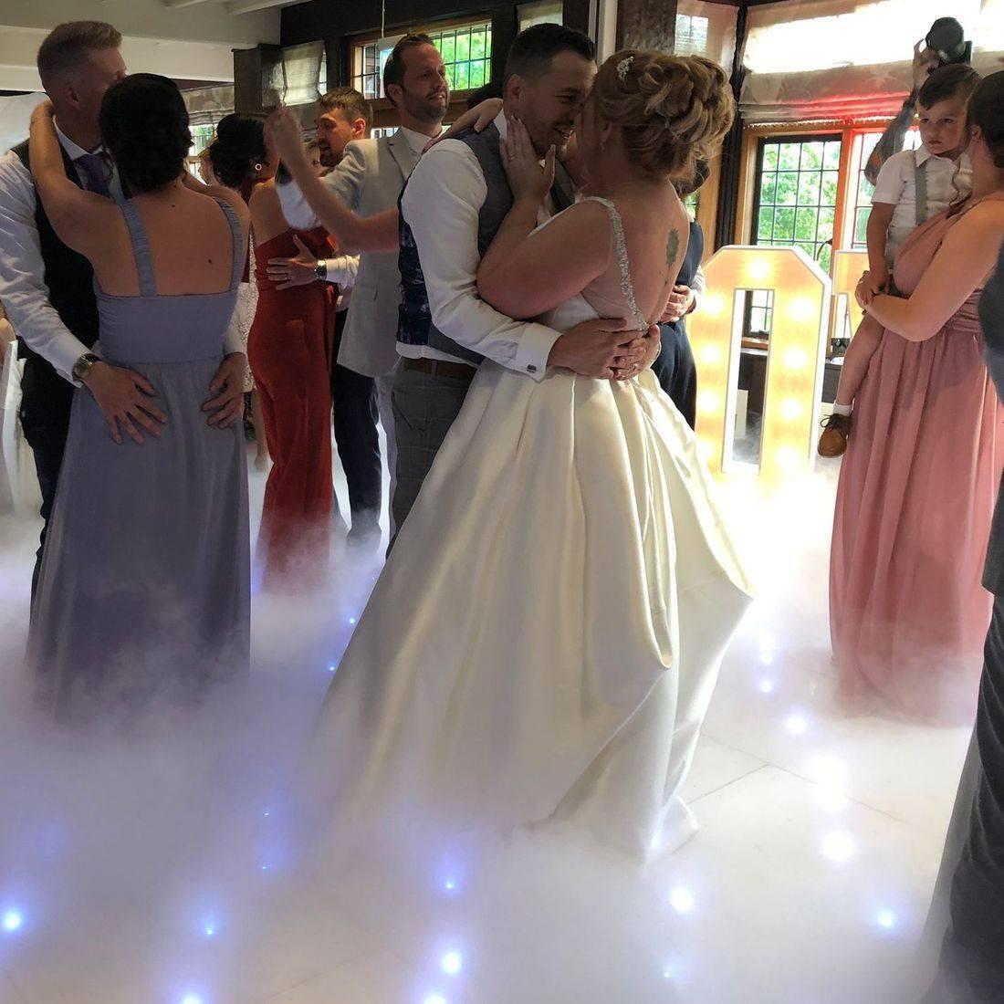 LED Dancefloor Led StarlitDanceflooR Hire  Wedding