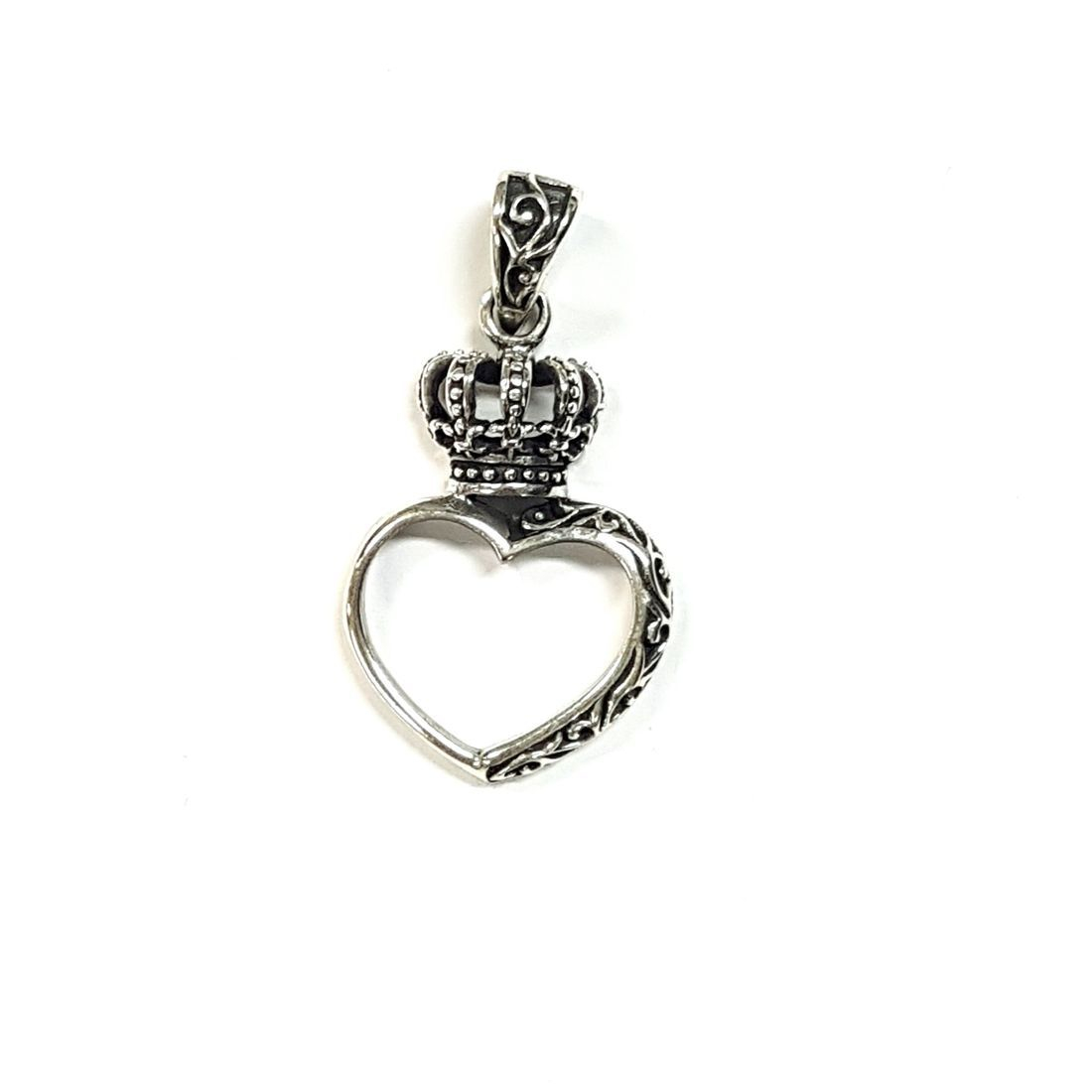 Crown & Heart Pendant  available at Kazbah online and our Leicester City Centre shop
