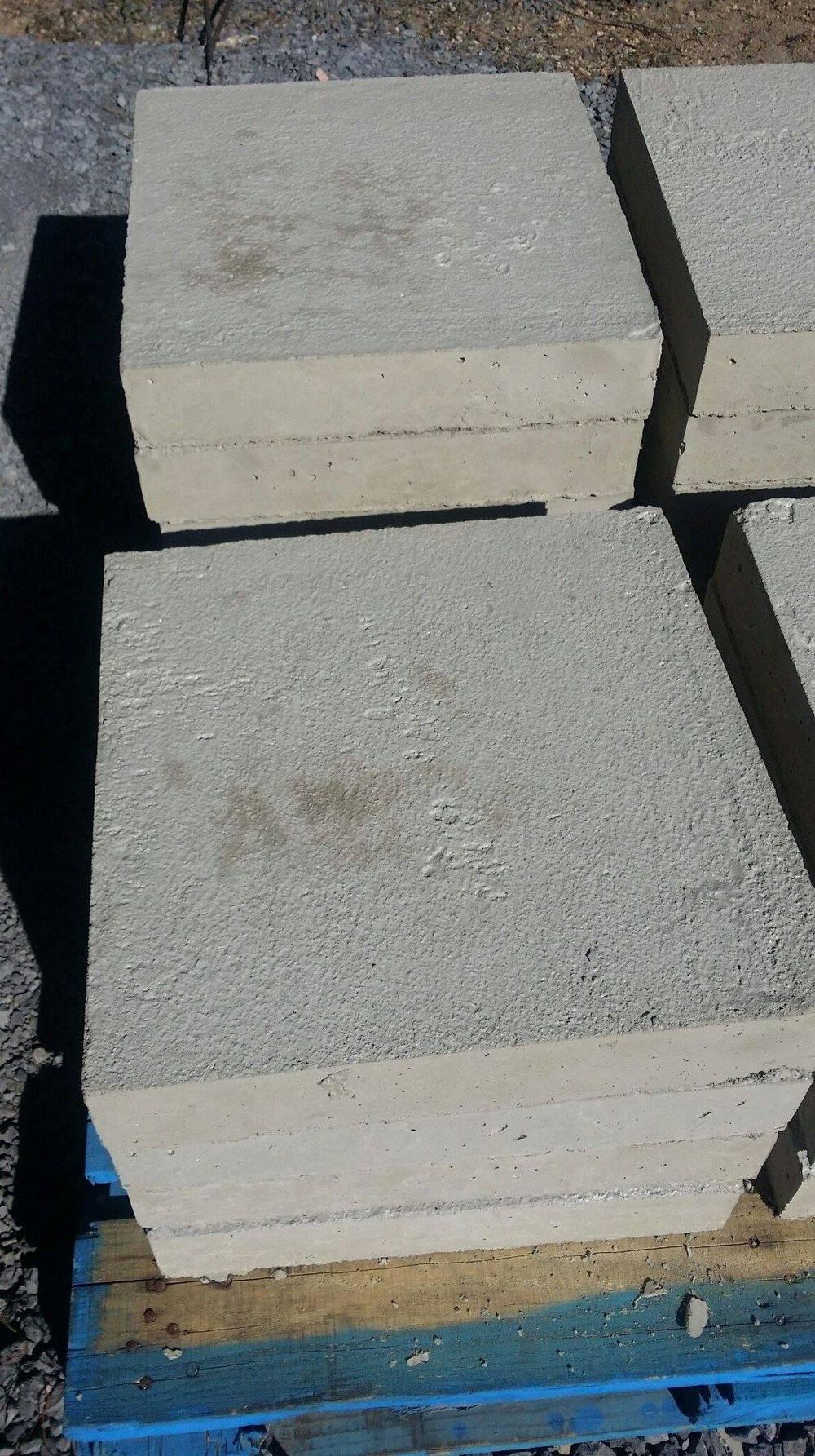 Square foundation blocks